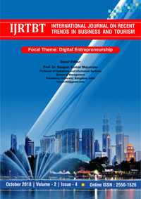 View Vol. 2 No. 4 (2018): International Journal on Recent Trends in Business and Tourism