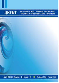View Vol. 2 No. 2 (2018): International Journal on Recent Trends in Business and Tourism