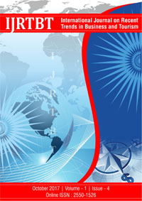 View Vol. 1 No. 4 (2017): International Journal on Recent Trends in Business and Tourism