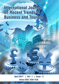 View Vol. 1 No. 2 (2017): International Journal on Recent Trends in Business and Tourism