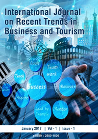 View Vol. 1 No. 1 (2017): International Journal on Recent Trends in Business and Tourism