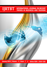 View Vol. 3 No. 1 (2019): International Journal on Recent Trends in Business and Tourism