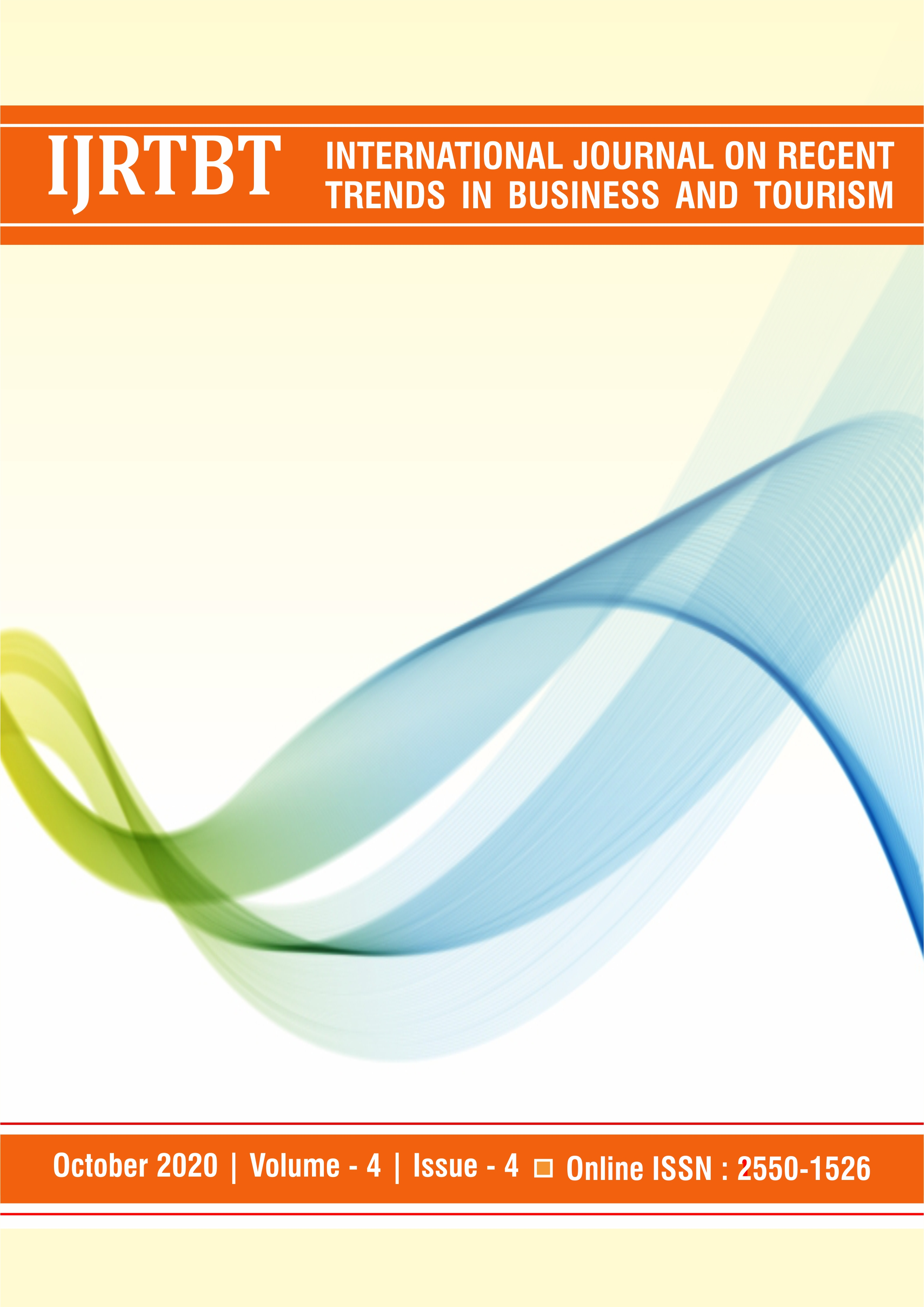 View Vol. 4 No. 4 (2020): International Journal on Recent Trends in Business and Tourism