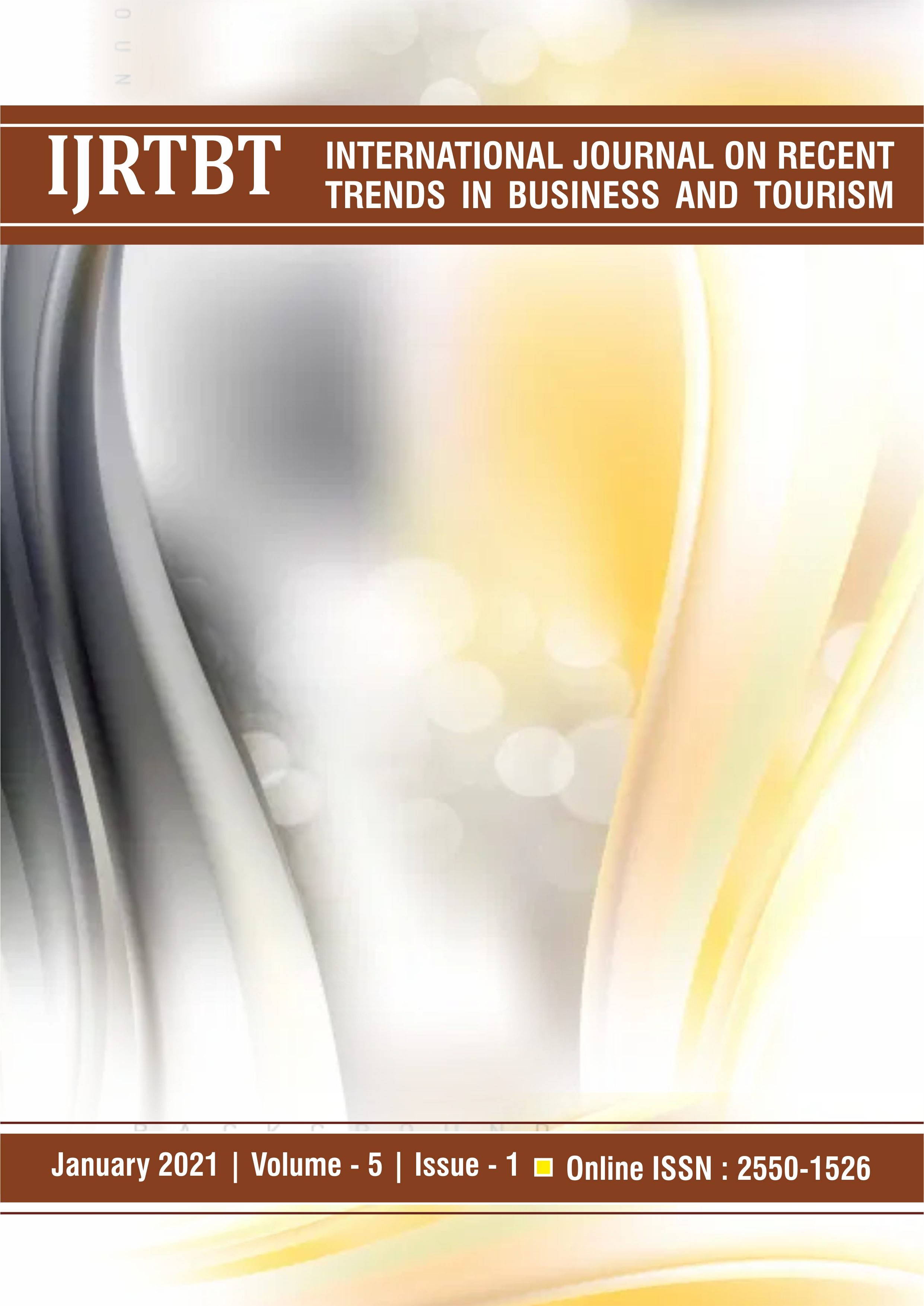 View Vol. 5 No. 1 (2021): International Journal on Recent Trends in Business and Tourism