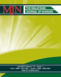 View Vol. 10 No. 1 (2018): The Malaysian Journal of Nursing