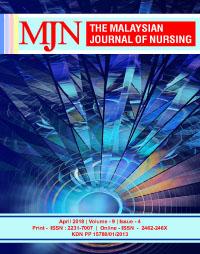 View Vol. 9 No. 4 (2018): The Malaysian Journal of Nursing