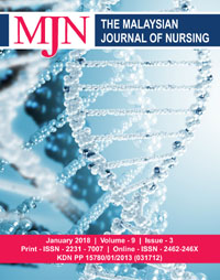 View Vol. 9 No. 3 (2018): The Malaysian Journal of Nursing