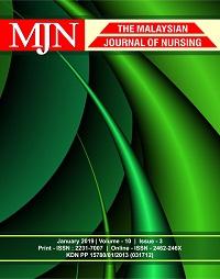 View Vol. 10 No. 3 (2019): The Malaysian Journal of Nursing