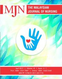 View Vol. 8 No. 4 (2017): The Malaysian Journal of Nursing
