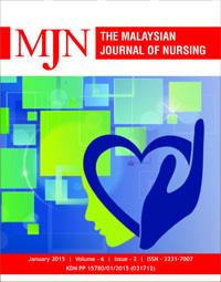 View Vol. 6 No. 2 (2015): The Malaysian Journal of Nursing