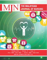 View Vol. 8 No. 2 (2016): The Malaysian Journal of Nursing