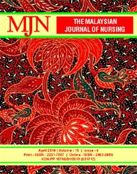 View Vol. 10 No. 4 (2019): The Malaysian Journal of Nursing