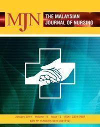 View Vol. 5 No. 2 (2014): The Malaysian Journal of Nursing