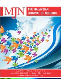 View Vol. 8 No. 1 (2016): The Malaysian Journal of Nursing