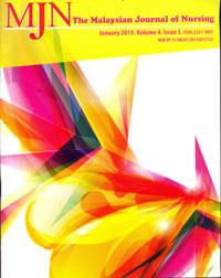 View Vol. 4 No. 3 (2013): The Malaysian Journal of Nursing