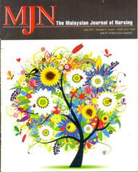 View Vol. 3 No. 1 (2011): The Malaysian Journal of Nursing