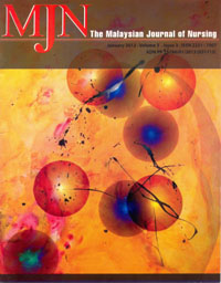 View Vol. 3 No. 3 (2012): The Malaysian Journal of Nursing