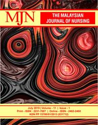 View Vol. 11 No. 1 (2019): The Malaysian Journal of Nursing