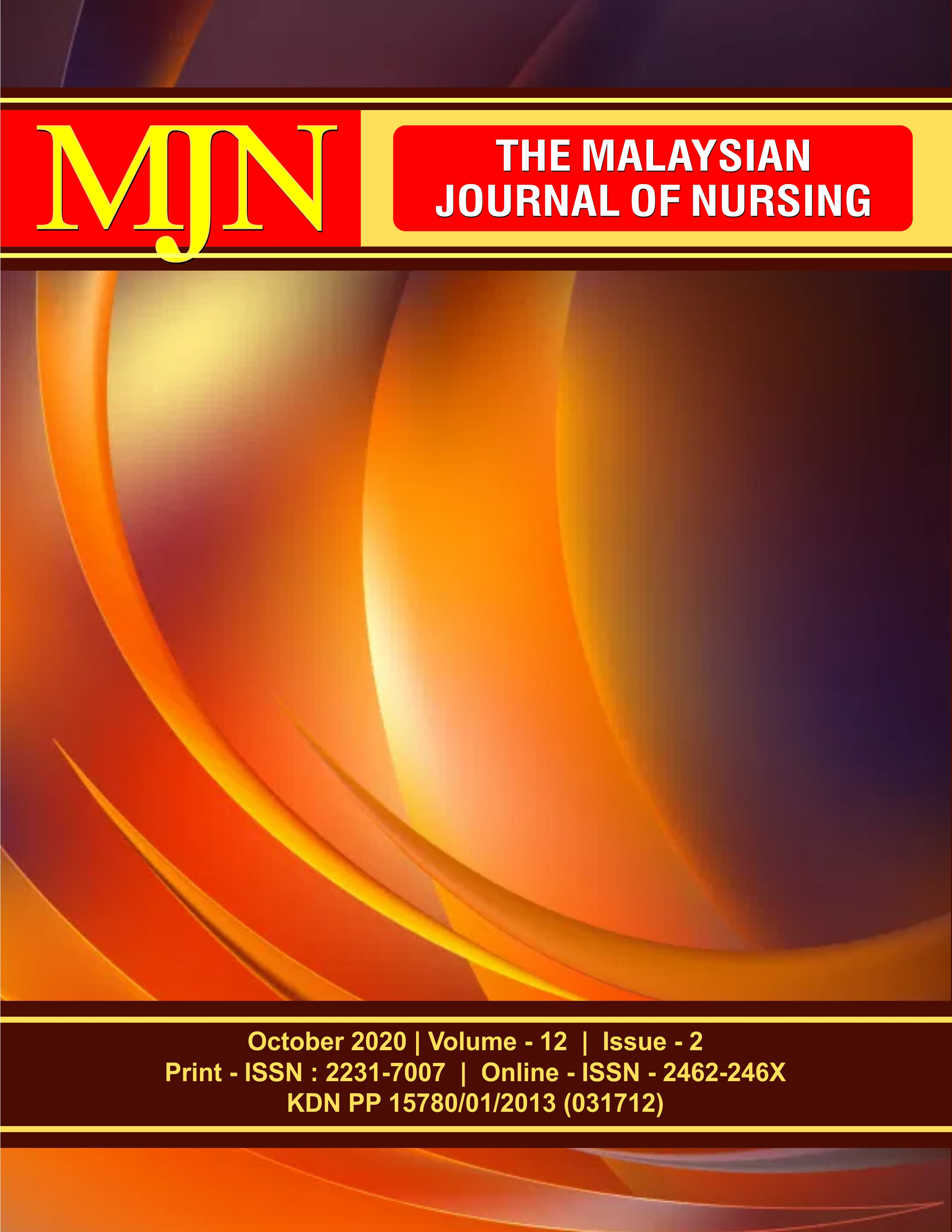 View Vol. 12 No. 2 (2020): The Malaysian Journal of Nursing