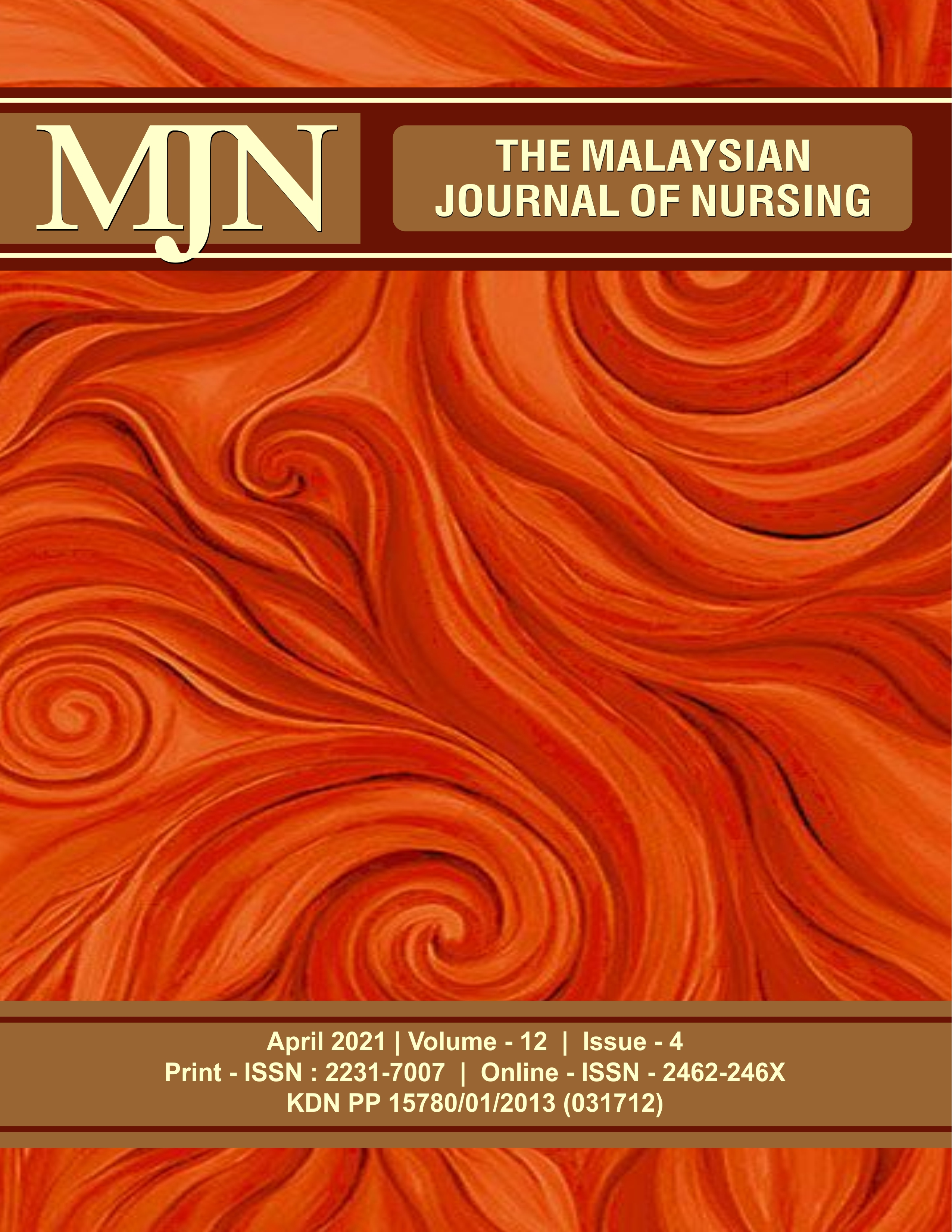 View Vol. 12 No. 4 (2021): The Malaysian Journal of Nursing