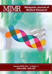 View Vol. 3 No. 1 (2019): Malaysian Journal of Medical Research