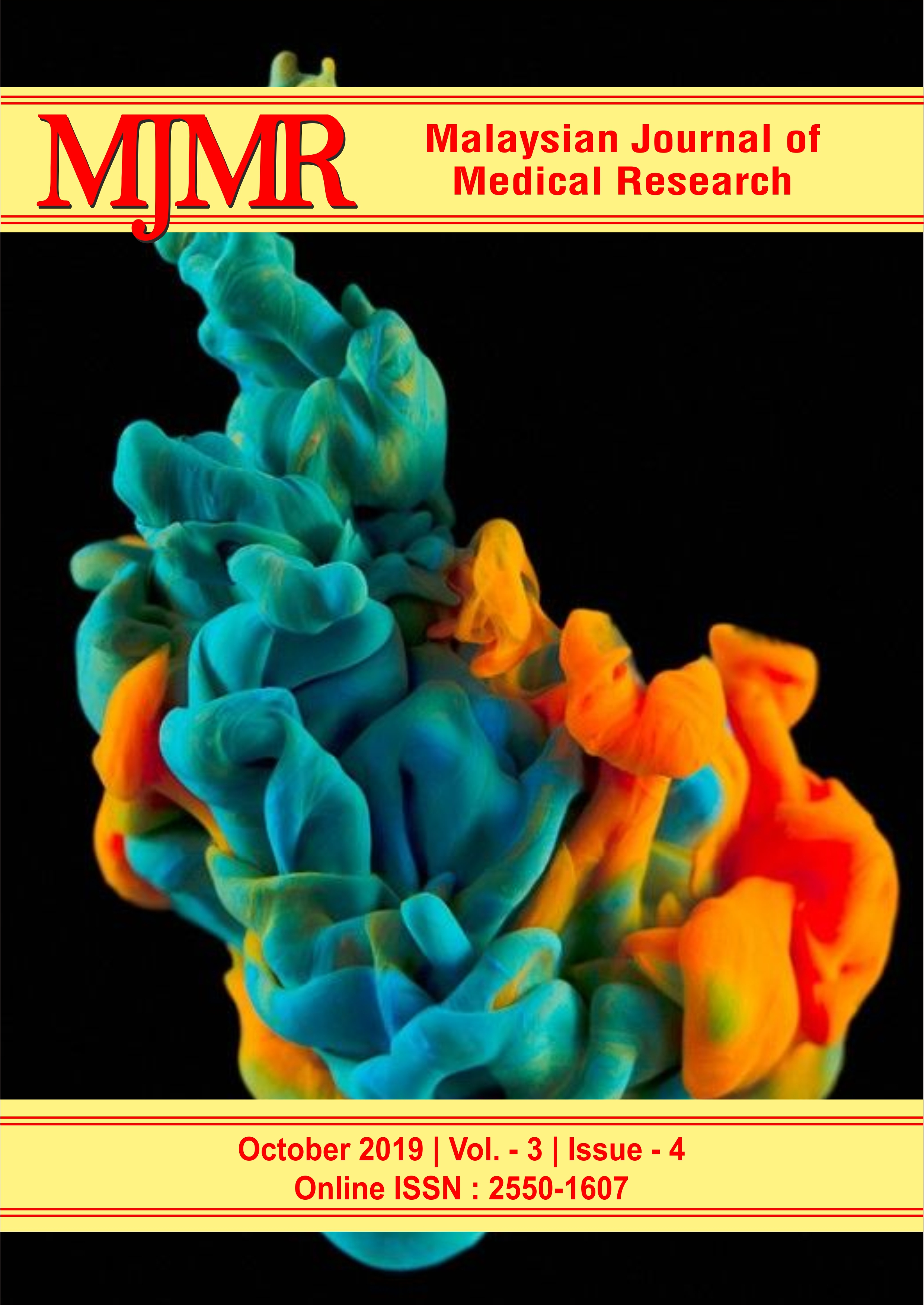 View Vol. 3 No. 4 (2019): Malaysian Journal of Medical Research