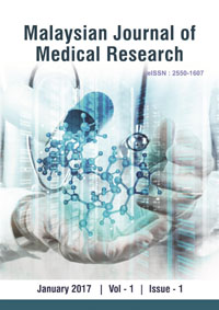 View Vol. 1 No. 1 (2017): Malaysian Journal of Medical Research