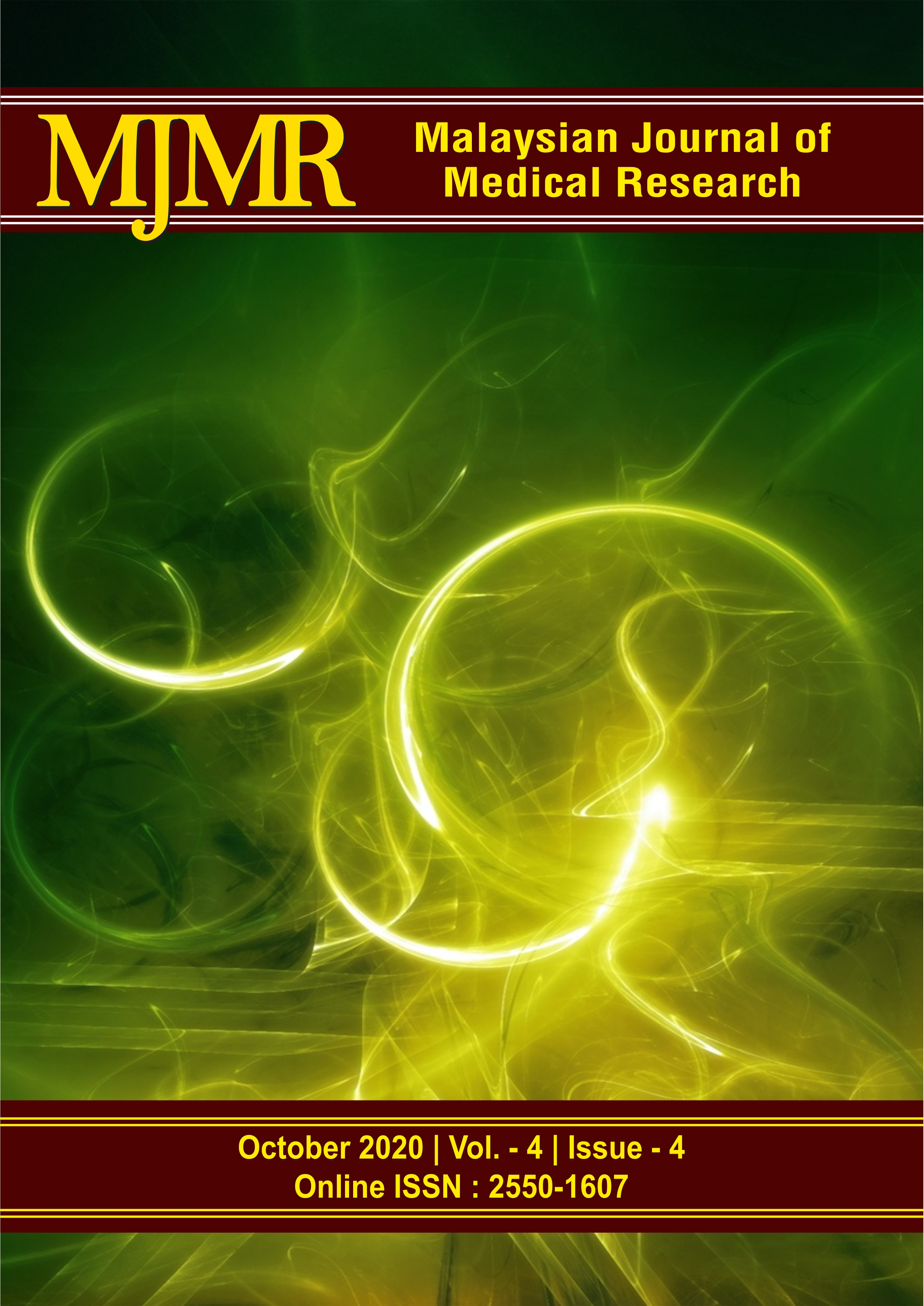 View Vol. 4 No. 4 (2020): Malaysian Journal of Medical Research