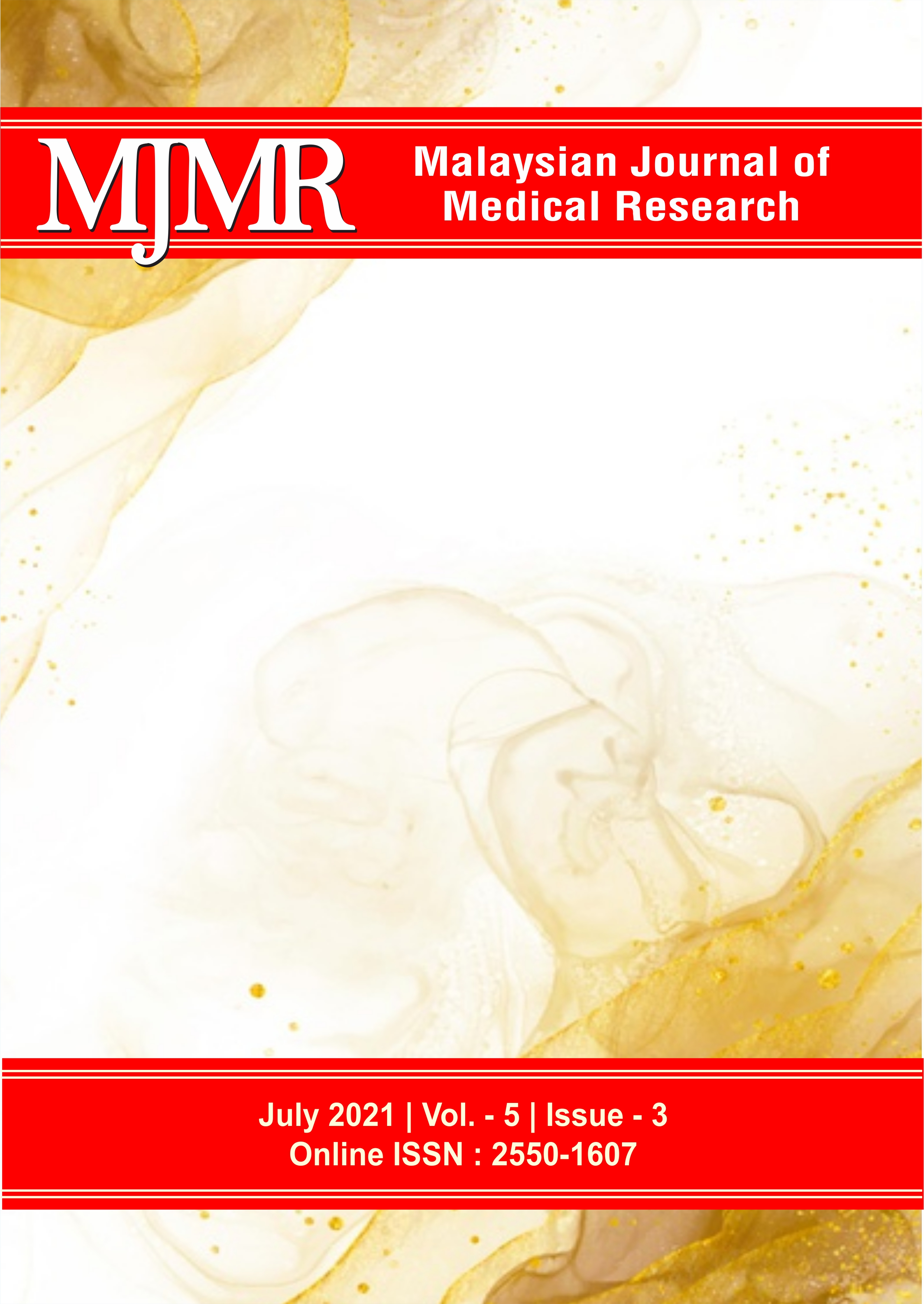 View Vol. 5 No. 3 (2021): Malaysian Journal of Medical Research