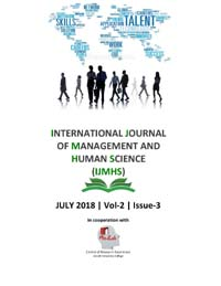 View Vol. 2 No. 3 (2018): International Journal Of Management And Human Science (IJMHS)