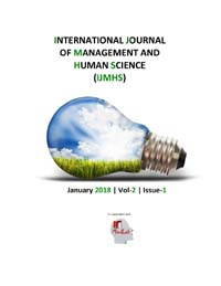 View Vol. 2 No. 1 (2018): International Journal Of Management And Human Science (IJMHS)